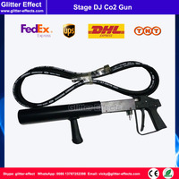 Special effect disco fog machine Hand hold portable night club bar stage party music show DJ Co2 gun