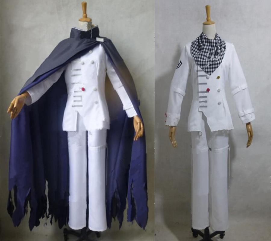 Nouveau Danganronpa V3 Ouma KOKICHI School Uniform Costume Full Set Cosplay Anime