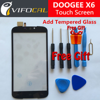 DOOGEE X6 Touch Screen 100 New Original Digitizer Outer Glass Panel Replacement For DOOGEE X6 5