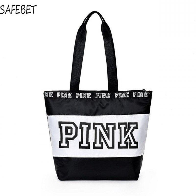 SAFEBET Weekend Travel Tote Bag Hot-selling Women handbags Pink waterproof vs fashionable Female shopping shoulder bags handbag