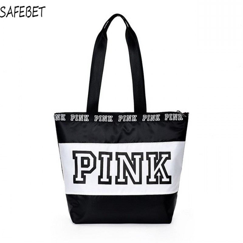 SAFEBET Weekend Travel Tote Bag  Hot-selling Women Handbags Pink Waterproof Vs Fashionable Female Shopping Shoulder Bags Handbag