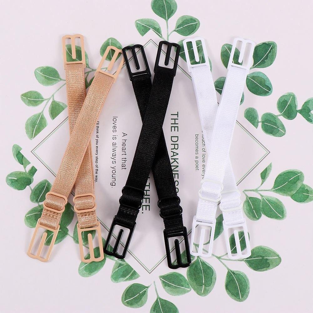 2pcs Double-Shoulder Strap Slip-Resistant Belt Buckle Shoulder Strap 2pcs/lot Bra Non-Slip Back Bra Strap Holder Adjustable