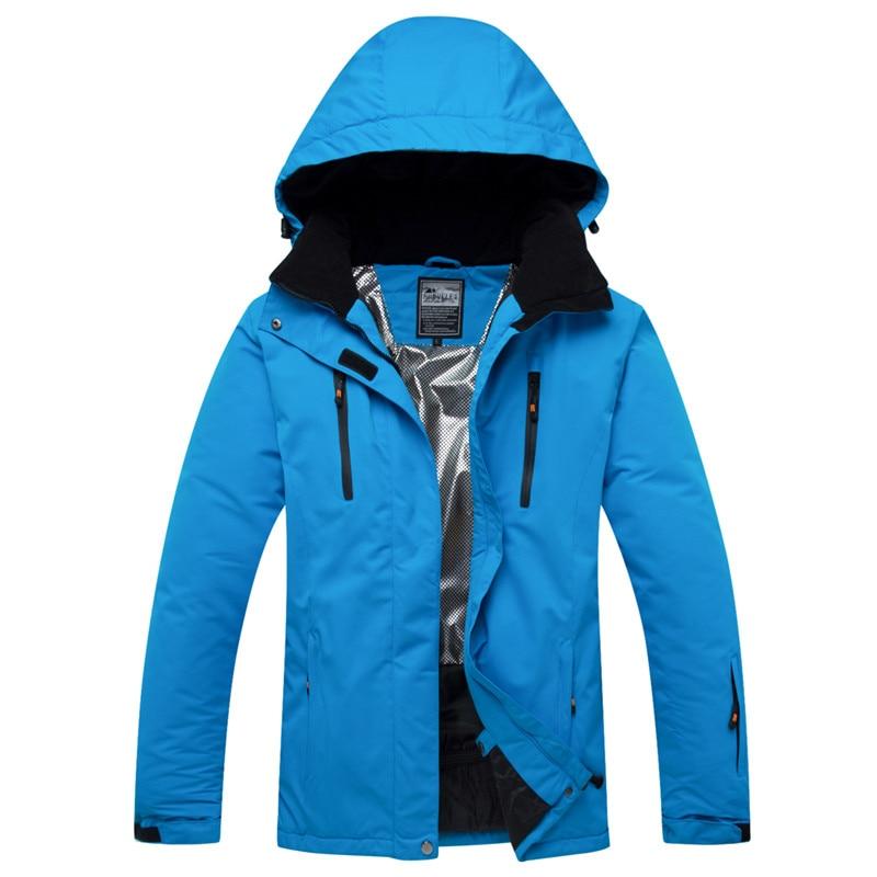 2019 unisexe Ski veste Ski Snowboard vêtements coupe-vent imperméable respirant Super chaud manteau femmes hommes plein air Sport porter