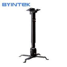 BYINTEK Universal Projector Bracket, Wall Ceiling Mount, Tilt Adjustable 5 years Warranty Stainless Steel,for K20 BT96plus K19