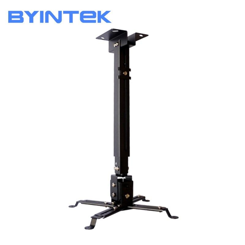 Universal Projector Wall Ceiling Mount Bracket Tilt Adjustable 5year Warranty Stainless Steel For BYINTEK BT96Plus M7 BL127 GP90