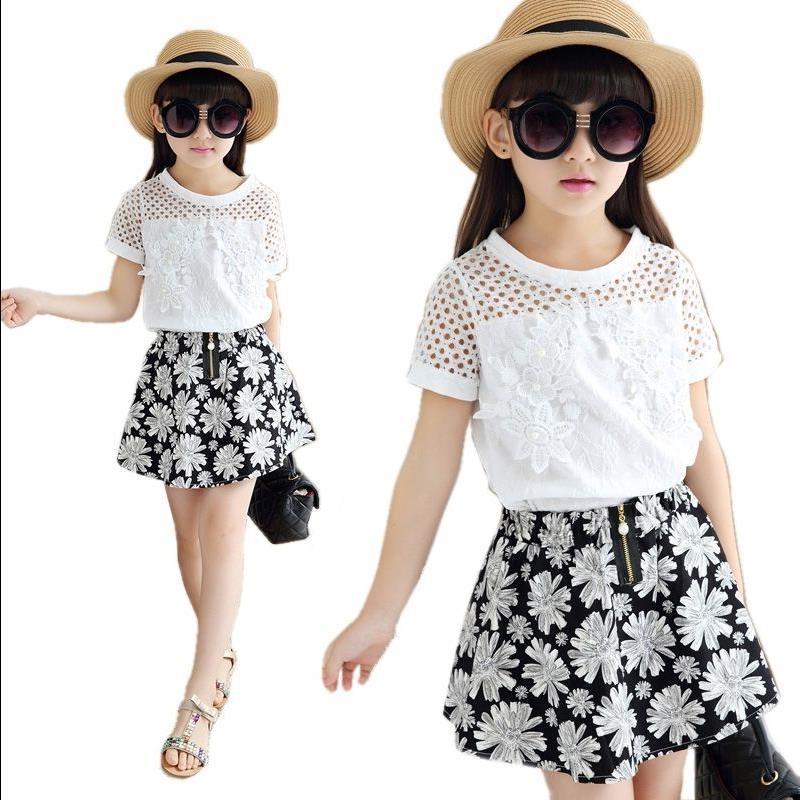 Girls ex high street lemon polka summer skirt top set outfit age 2-3 3-4 years