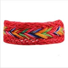 Multi Color Lesbian Pride Natural Handmade Bracelets