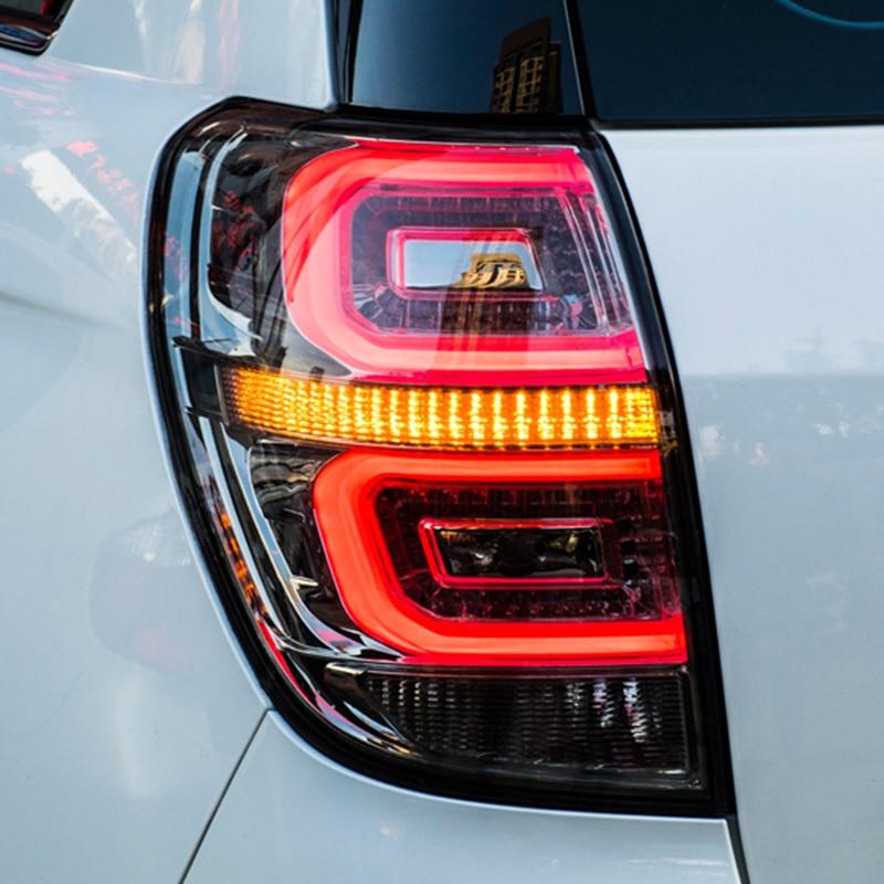 Car Styling for Chevrolet Captiva Tail Lights 2008 2017 New Kaptiva LED Tail Lamp DRL Signal