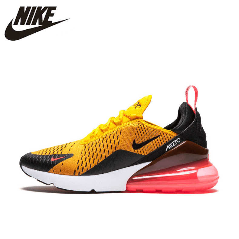 official photos 63064 eb54b Nike Air Max 270 180 Running Shoes Sport Outdoor Sneakers Yellow Black Red  Comfortable Breathable Cushioning for Men AH8050-006
