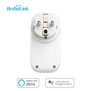 Image 5 - Broadlink SP3S Energie monitörü akıllı Draadloze WiFi soket Afstandsbediening Met güç ölçer Controle kapı IOS Android