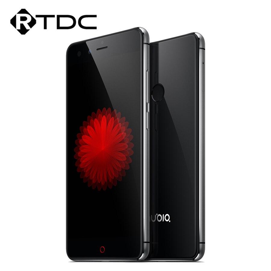 "Цена за Оригинал ZTE Нубия Z11 Мини Snapdragon 617 MSM8952 Octa Ядро 16.0MP 5.0 ""мобильный Телефон Android 5.1 3 ГБ RAM 64 ГБ ROM Отпечатков Пальцев"