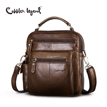 Cobbler Legend Brand Designer Men's Shoulder Bags Genuine Leather Business Bag 2016 New High Quality Handbags For Men #109171