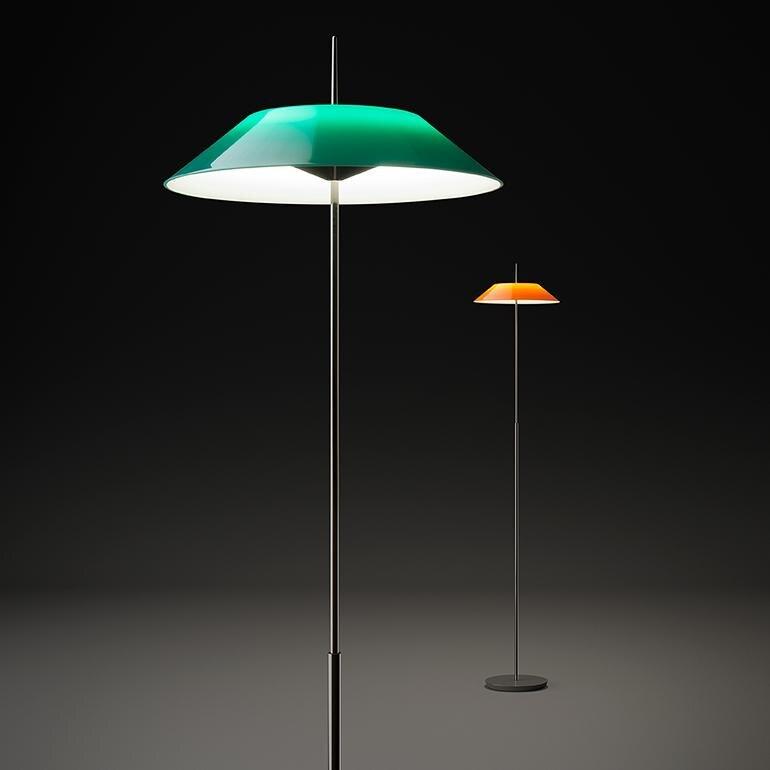 Nordic modern led Revolve floor lamp design green glass Denmark Version Opal study living bed room floor lamp