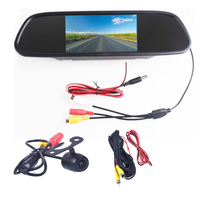 5.0 5.0 Inch TFT LCD Color Car Rear View Mirror Monitor Video DVD Player Car Audio Auto For Car Reverse Camera