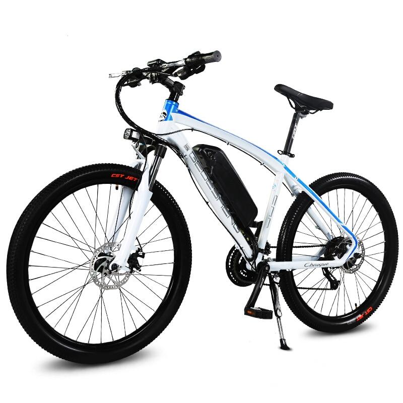 26-inch sepeda gunung listrik pintar pas 48 V baterai lithium 250 W - Bersepeda - Foto 3