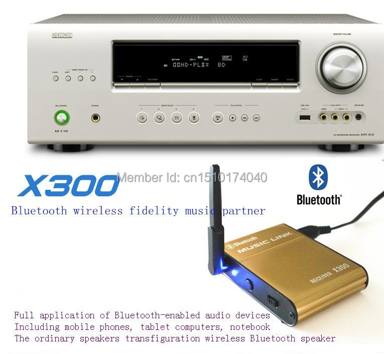 High quality! Brand New Yanni Bluetooth Audio Receiver X300
