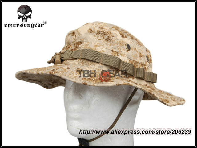 483b18eac47 Emerson Outdoor Hat Men New PenCott Sandstorm Desert Camouflage Hat  Military Boonie Hat+Free shipping