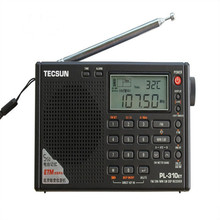 T ecsun PL-310ETโลกเต็มวงแบบพกพาสเตอริโอFMวิทยุFM/AM/SW/LW DSPวิทยุดิจิตอลDemodulationวิทยุ