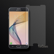 Tempered Glass For Samsung Galaxy J7 Prime / On7 2016 / G610 Screen Protector Film For Samsung J7 Prime 2.5D Curved Edge Screen(China)