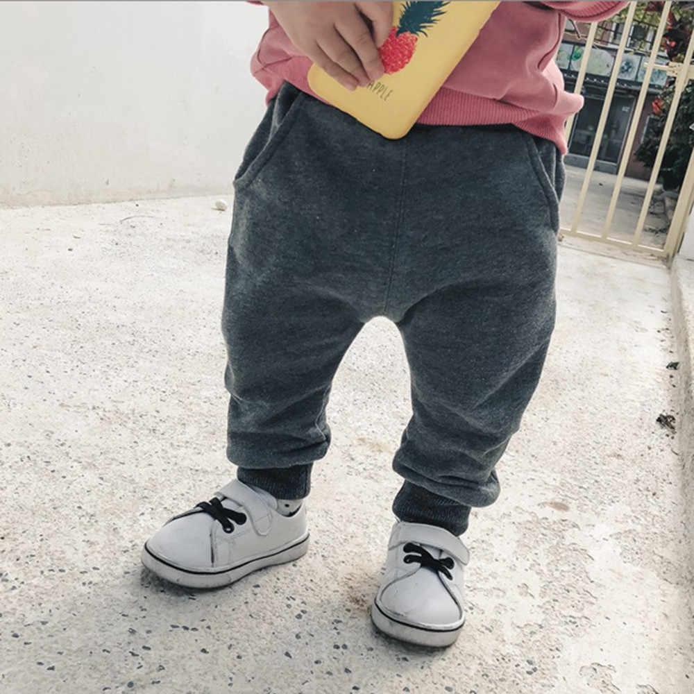 Baby Boys Girls Cartoon Shark Tongue Harem Pants Trousers Pants Children Kids