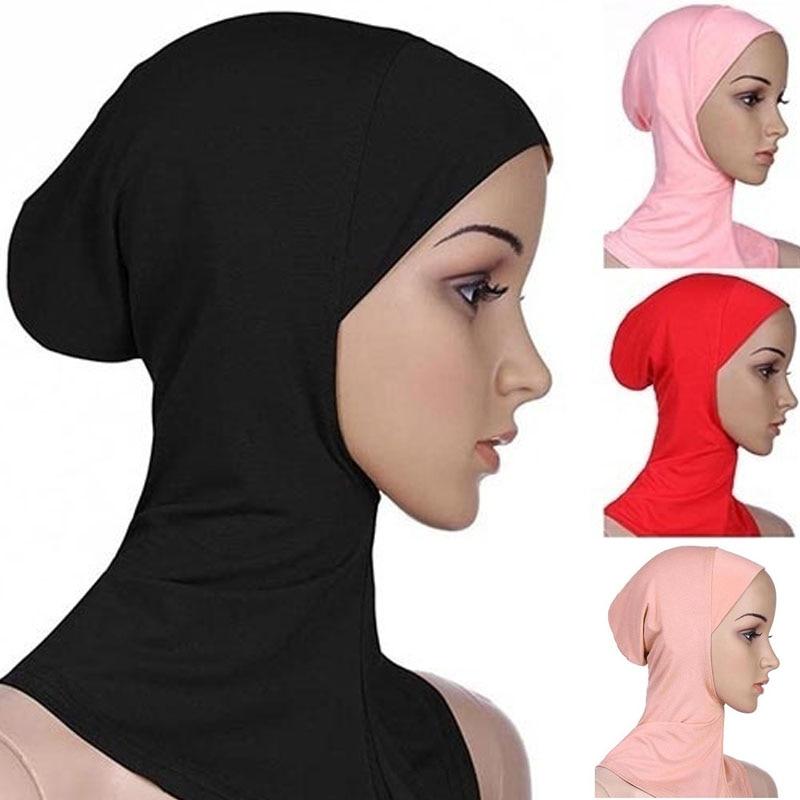 Hijab Caps Fashion Ramadan Islamic Turban National Muslim Cap Muslim Women Scarf Multifunctional Cotton Travel Hair Accessories