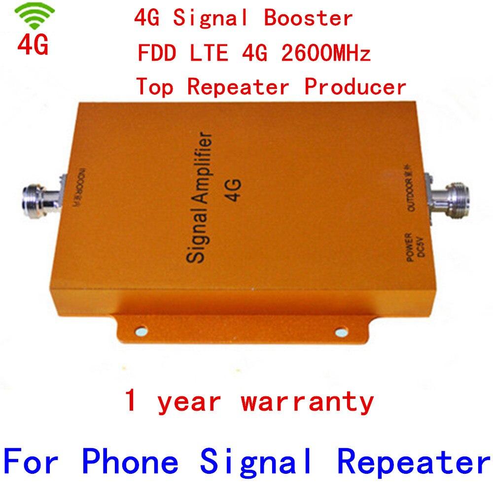 Nouveau 4G répéteur 65dbi LTE booster FDD LTE répéteur 4G booster de signal 4G 2500-2570 mhz 2620-2690 mhz booster LTE 4G booster