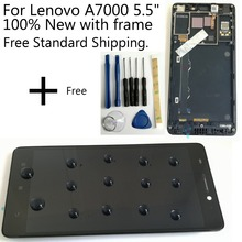 Shyueda 100% New with frame  5.5 inch For Lenovo A7000 5.5
