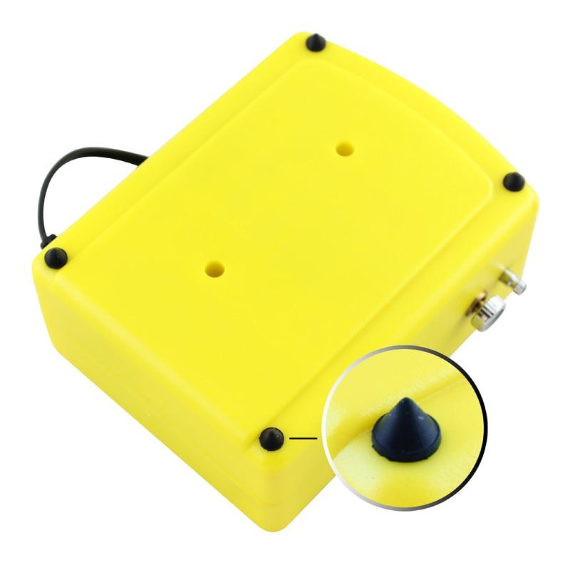 OPHIR Kit aerografo a doppia azione con compressore d'aria per art - Utensili elettrici - Fotografia 3