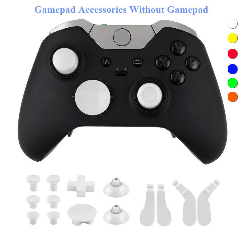 DOITOP DIY font b Gamepads b font Button For PlayStation4 Xbox One Colorful Handle Key Game
