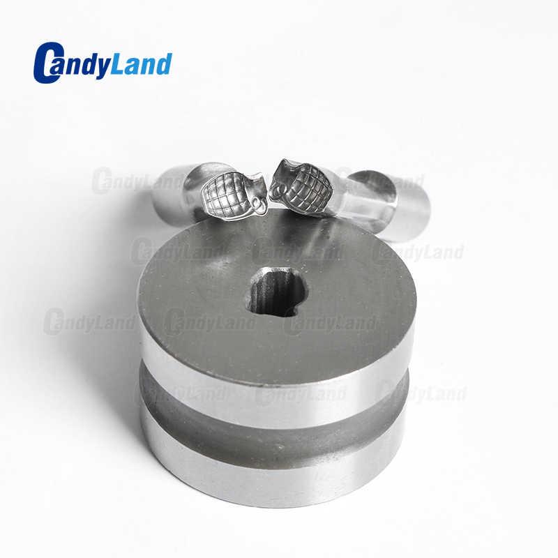 Candland أقراص حليب قنبلة صغيرة يموت ثلاثية الأبعاد لكمة قالب طبع الحلوى اللكم يموت قرص الكالسيوم لكمة يموت لآلة TDP1.5