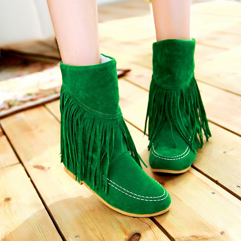 Online Get Cheap Short Fringe Boots -Aliexpress.com | Alibaba Group