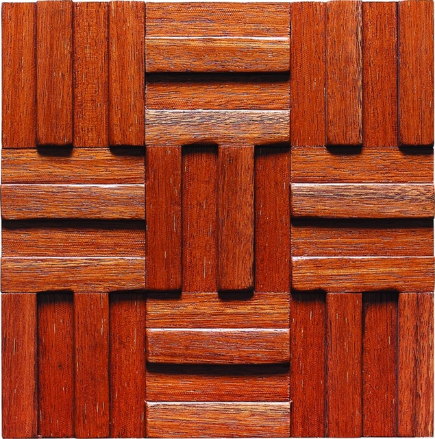 Tile online wooden tiles mosaic rustic style gorgeous wall deco ...