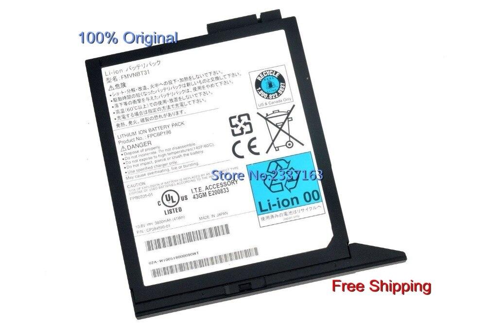 IECWANX 100% new Laptop Battery FMVNBT31 (10.8V 3800mAh 41WH) for Fujitsu E780 E751 E752 S7220 T731 T730 Th700 T4410 Series