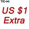 Recargo, costos adicionales (si 10 DOLLAR, así que por Favor de entrada 10 unids. Equivale a pagar USD 10)