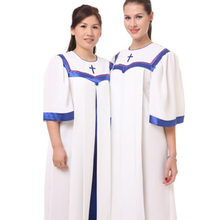Unisex Priest Pastor Christian Church Choir long  Robes church clothing for adults black friday gown robe Blue color