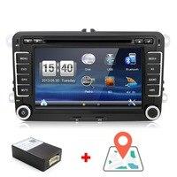 7 Autoradio GPS Navigation Sat Nav DVD Player For VW PASSAT GOLF 5 6 POLO Caddy