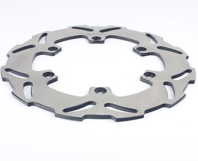 Fit KTM 125 250 300 400 450 500 525 EXC SX SXS GS MX LC4 1 PCS High quality Chrome Motorcycle Rear Brake Disc Rotor цена