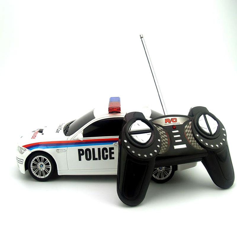 licensed 1 18 rc car model for bmw m3 police car remote. Black Bedroom Furniture Sets. Home Design Ideas