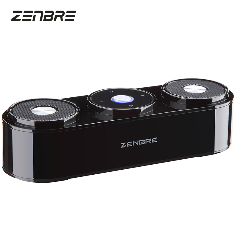 Bluetooth Speakers, ZENBRE Z3 10W Portable Speakers with 20h Playtime, Computer Speaker with Dual-Driver Enhanced Bass Resonator