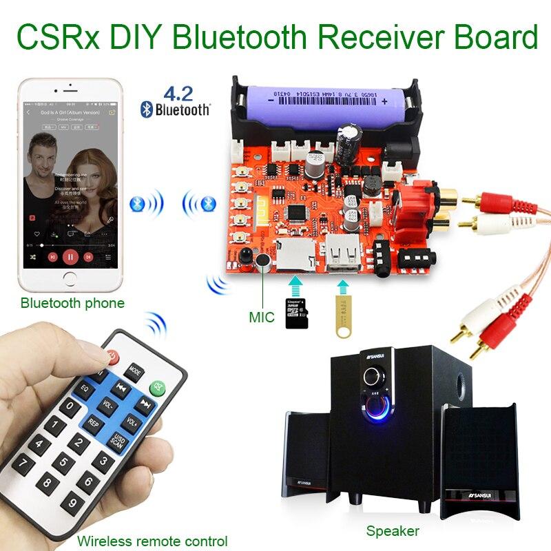 CSR 3,5mm drahtlose bluetooth audioempfänger modul DIY bord MP3 musik computer subwoofer stereo mini USB tragbare HiFi lautsprecher