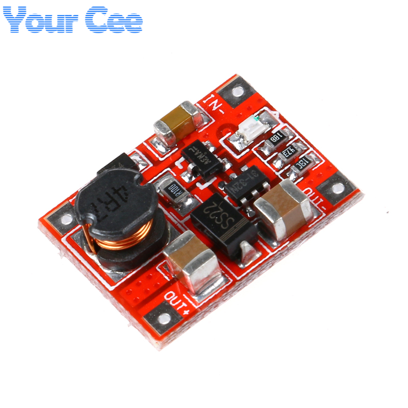 5 pcs DC-DC Boost Power Supply Module Converter Booster Step Up Circuit Board 3V to 5V 1A Highest Efficiency 96% Ultra Small ...