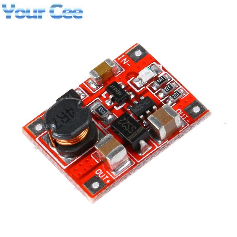 Details about  /1//2//5PCS SX1308 DC-DC Step-up Converter Power Module Booster Board Adjustable