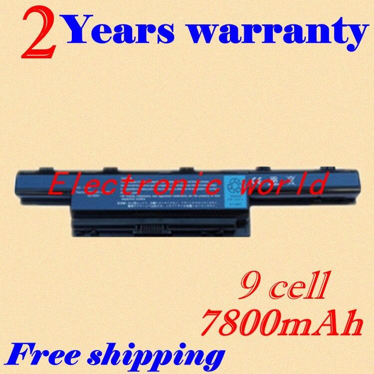 JIGU 9 Cell Laptop Battery For Acer TravelMate 5742 5742ZG 734 7340  7740 AK.006BT.080 AS10D31 AS10D3E AS10D41 AS10D51 AS10D75 laptop batteries for acer as07b41 as07b72 aspire 7220 5520g as07b61 7540 5942 8730g 7735z 5710z travelmate 7730 11 1v 12 cell