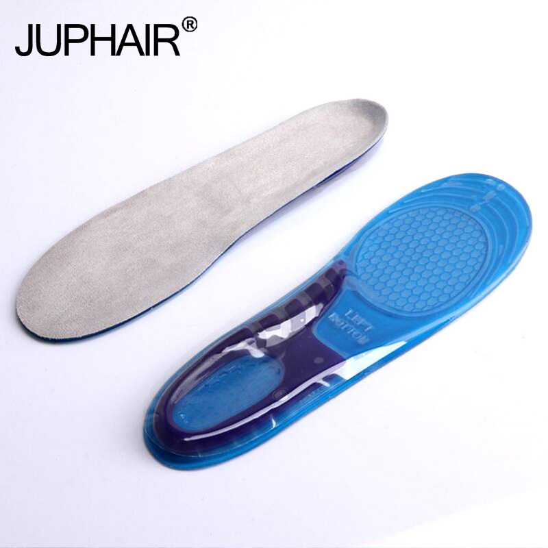 New 3 Pairs Silicon Gel Can Be Free to Cut Breathable Orthotic Arch Support Massaging Insoles