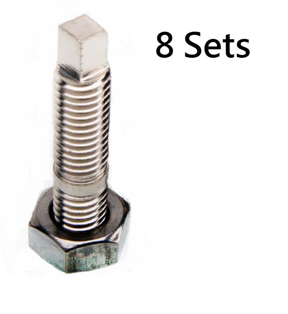Banjo Bolt Kit M10x1.25mm to 4AN Mitsubishi EVO 1~10 4G63T 4B11T Engine Block