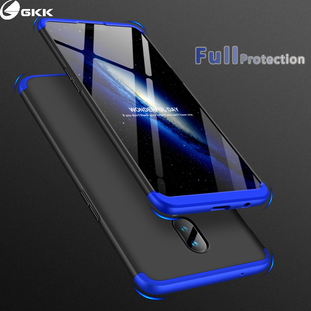 best sneakers 25d12 a2b29 US $3.64 27% OFF|GKK Case for Oneplus 6 6t Case 360 Full Protection  Shockproof Matte Hard 3 In 1 for oneplus6 Oneplus 5 5t Cover Coque  Fundas-in ...