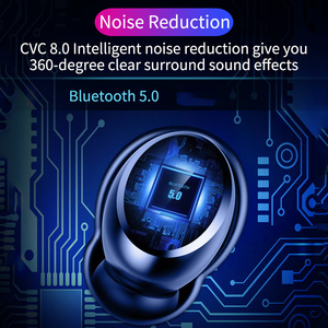 Image 5 - TWS Echte Draadloze Oortelefoon 5.0 Bluetooth Hoofdtelefoon 8D Stereo Waterdicht Touch Control Oordopjes met LED 4000 mAh Power Bank