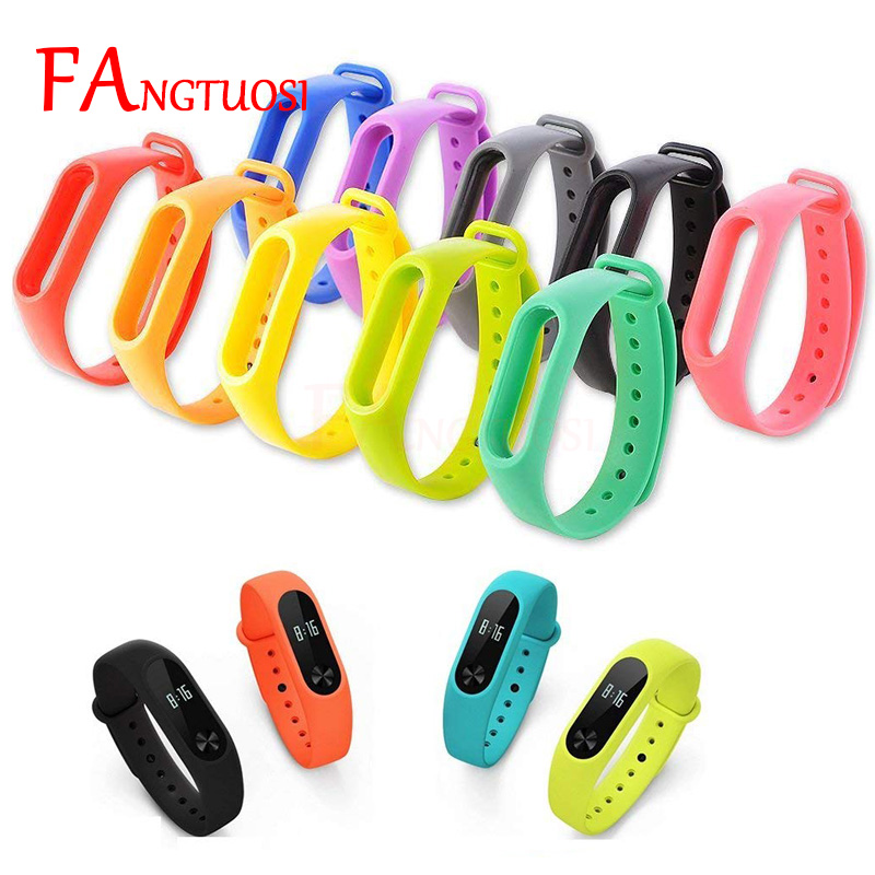 FANGTUOSI mi band 2 Silicone smart Accessories wrist Strap For Xiaomi Mi Band