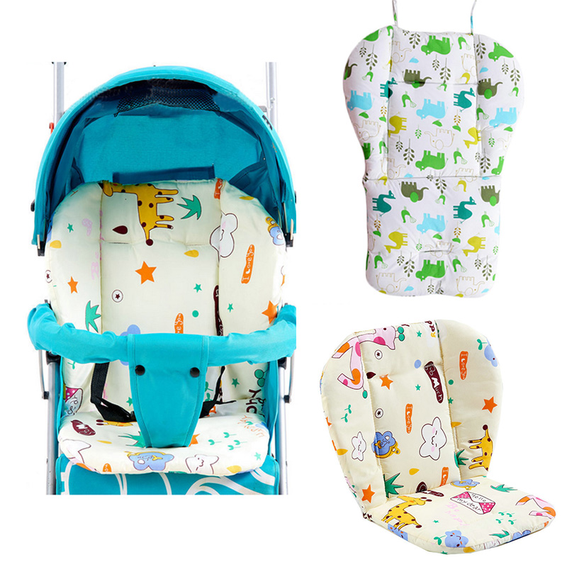 Baby Stroller Seat Cushion Pram Mattress Baby Stroller Accessories Pad Thick Cover For Baby Carriage Umbrella Cart Dining Chair