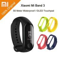 Original Xiaomi Mi Band 3 Smart Watch 0.78 inch OLED Bracelet 50m Waterproof Fitness Tracker Wristband In Stock Xiaomi Miband 3